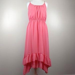 Everly Racerback Maxi Dress Ruffle Layer Bottom